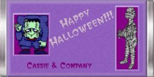 Personalize Your Halloween favors!